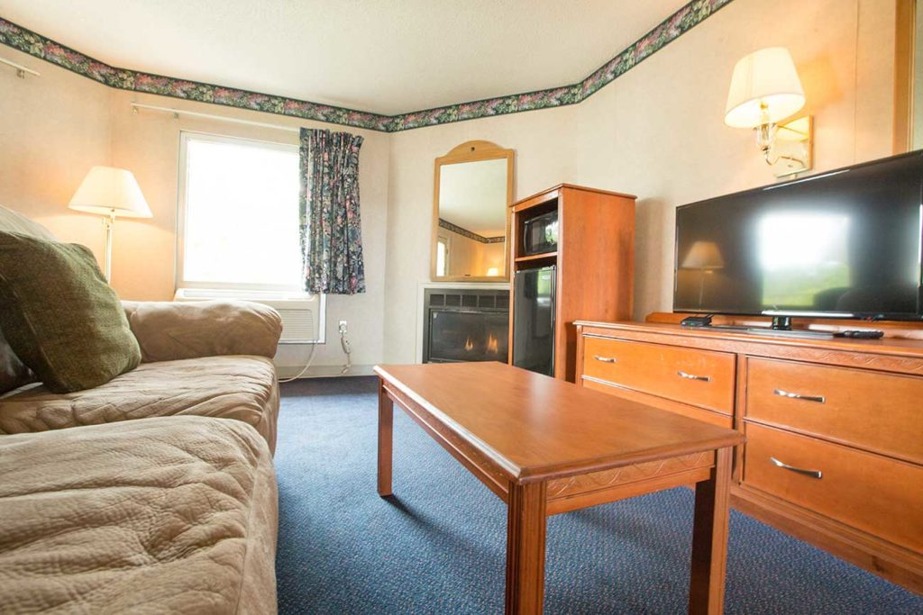 Family room in King suite